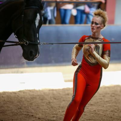 29-30 августа 2020 года на базе КСК «Вента-Арена» состоялся Чемпионат Санкт-Петербурга по вольтижировке, фото 2