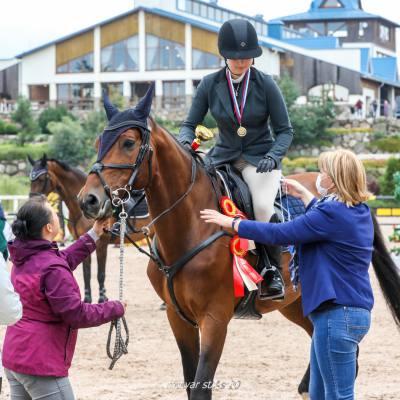 Чемпионат Санкт-Петербурга по конкуру прошел в КСК