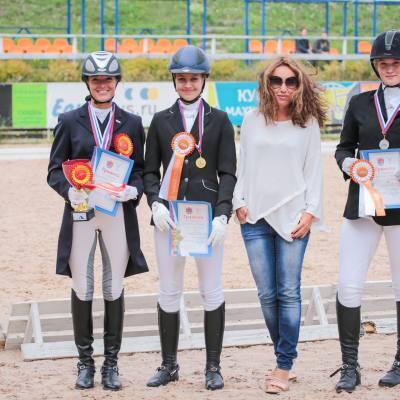Чемпионат Санкт-Петербурга по выездке (гр. D) и этап Кубка Maxima Park прошли в КСК