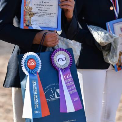 Дети, лошади, конкур: Петербург принял международные соревнования для юных спортсменов, фото 10