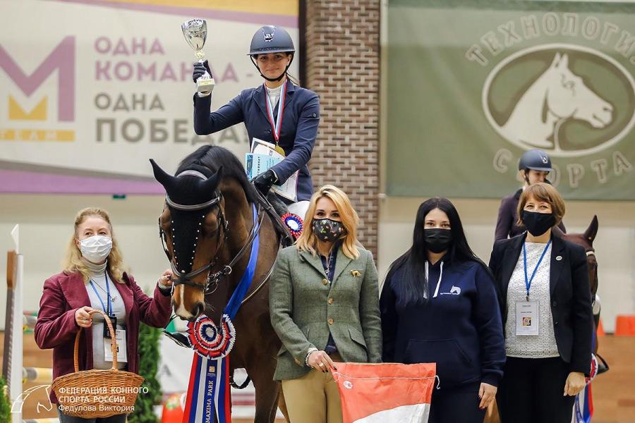 Команда Санкт-Петербурга - третья на Кубке России по конкуру!