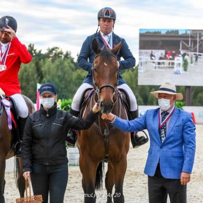 Лично-командный Чемпионат России по конкуру завершился в КСК