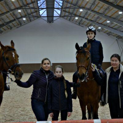 Мастер-класс с Марией Химченко и УТС сборной команды Санкт-Петербурга прошел в КСК