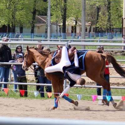 Открытый областной турнир по конно-спортивной джигитовке в Твери, фото 6