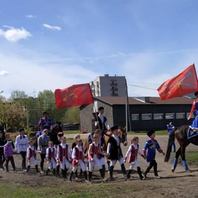Открытый областной турнир по конно-спортивной джигитовке в Твери, фото 2