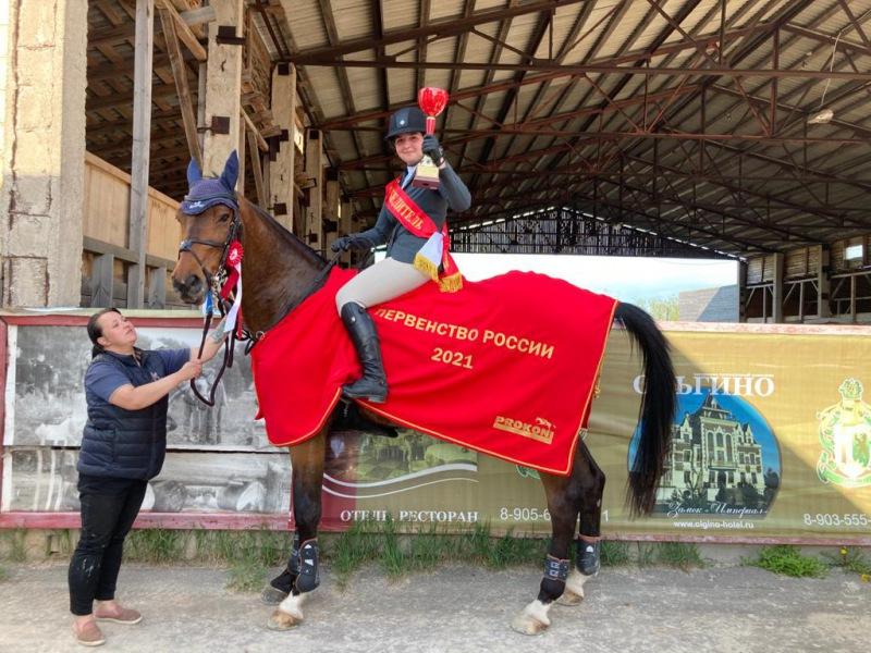 Петербурженка — победитель Первенства России по конкуру