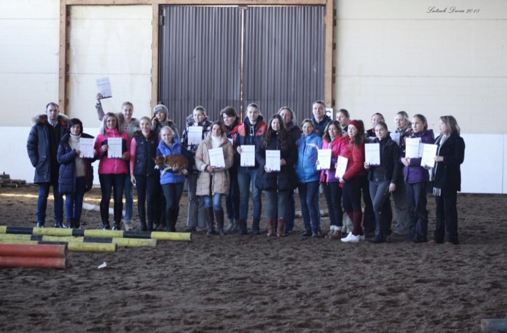 В Санкт-Петербурге прошел международный семинар для тренеров (Вводный уровень)