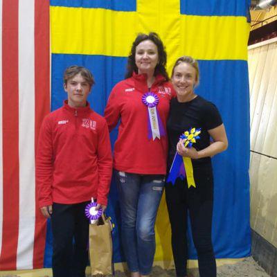 В Швеции прошли международные соревнования по вольтижировке, фото 4