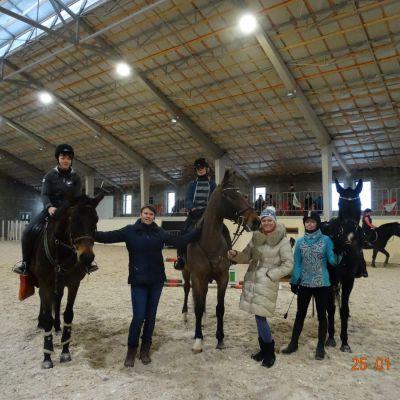 Закончилось обучение по программе «Подготовка лошадей и всадников по конкуру», фото 5